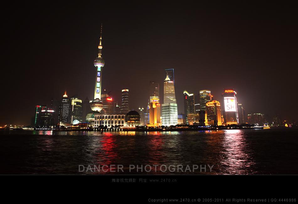 《上海外滩夜景》 >> 舞者视觉