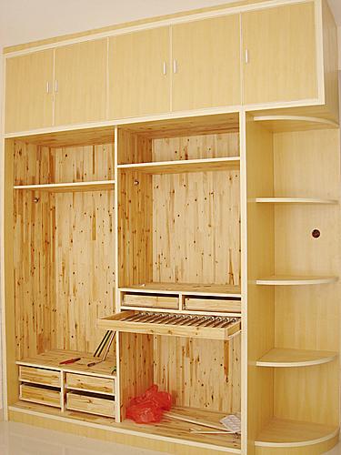 木工装修,木工衣柜装修效果图,建筑木工图纸_点力图库